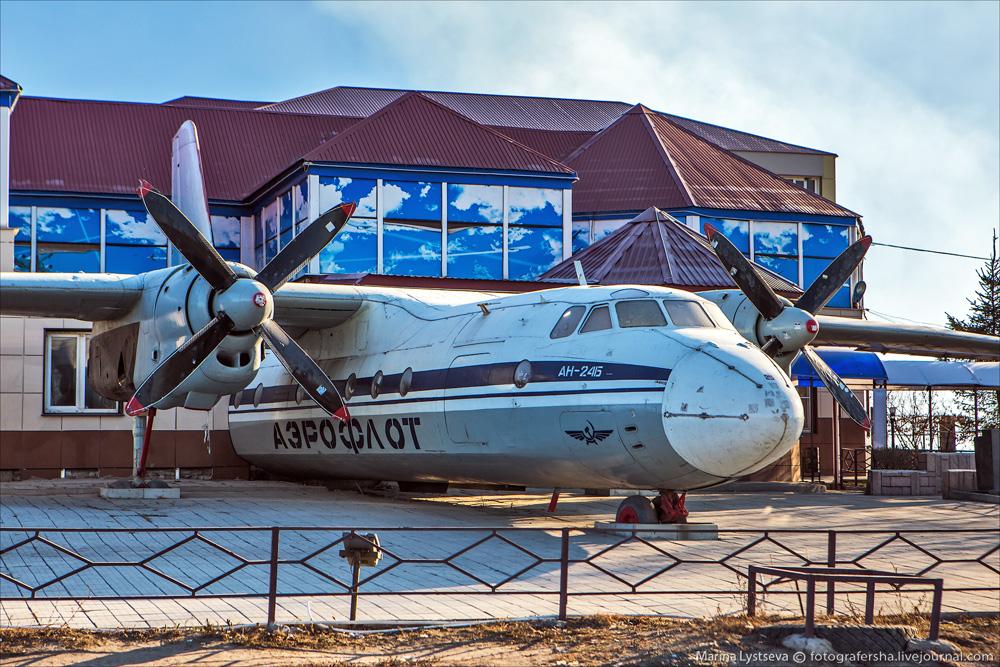 Ан-24Б на трассе Москва-Дон