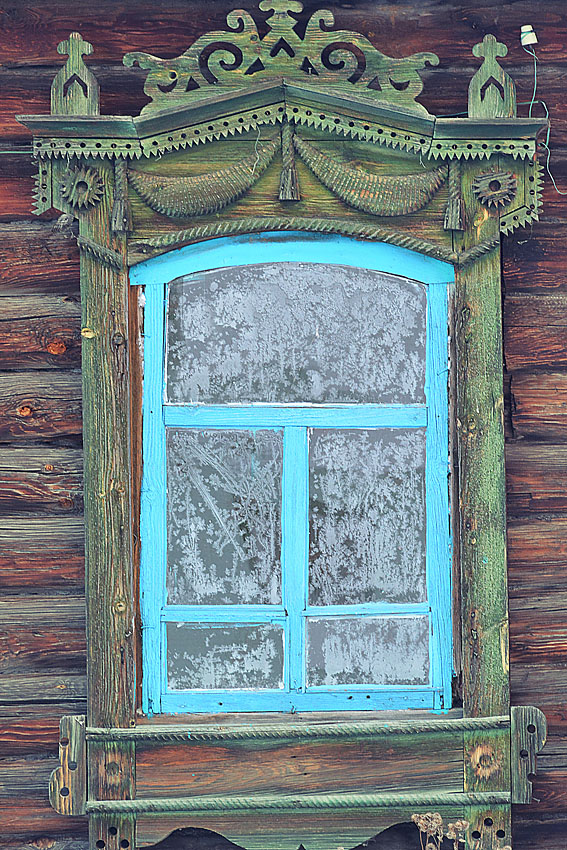 Окно в деревне Ильтяково Шадринского района.