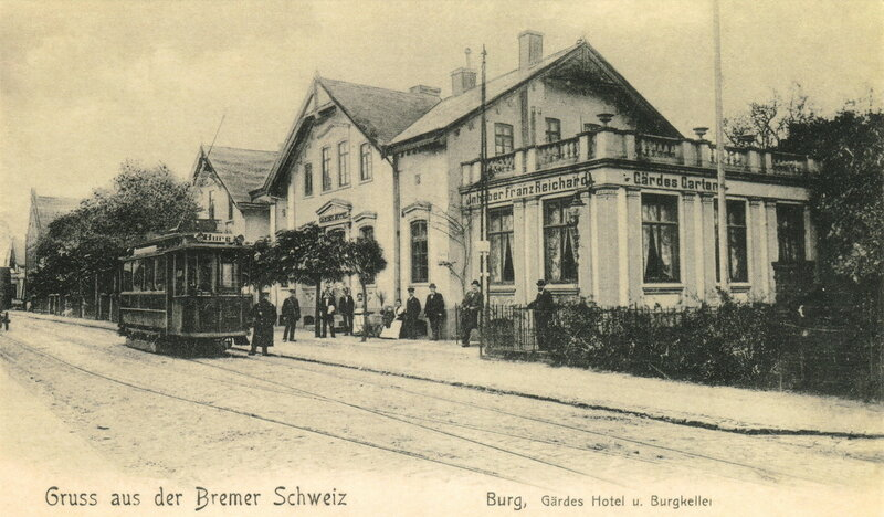 Burg, Gärdes Hotel u. Burgkeller