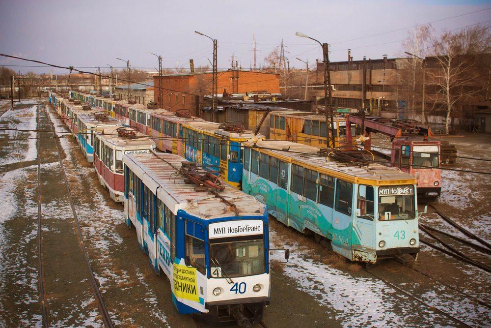 трамвайное депо Новотроицка