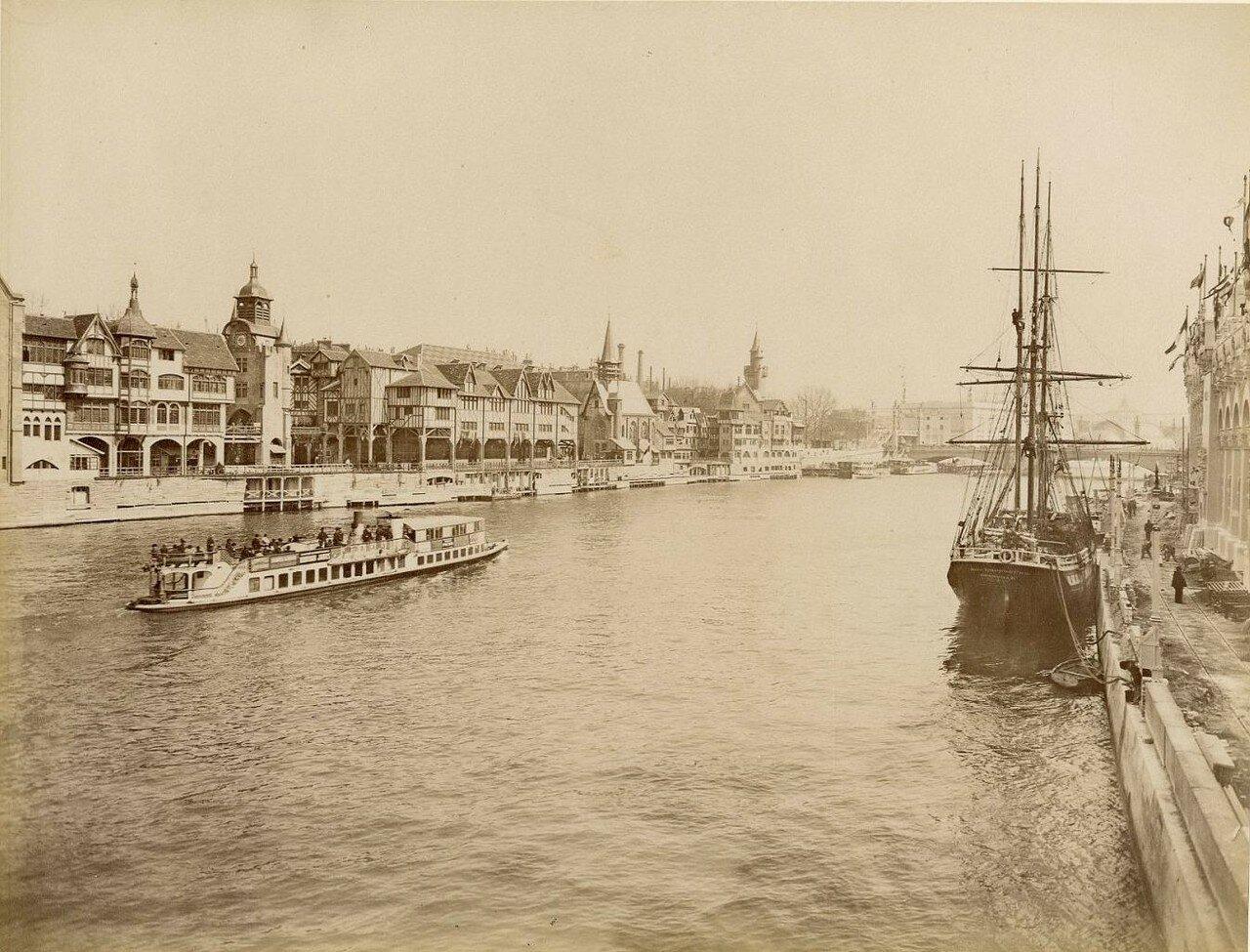 Вид с Сены на Всемирную выставку
