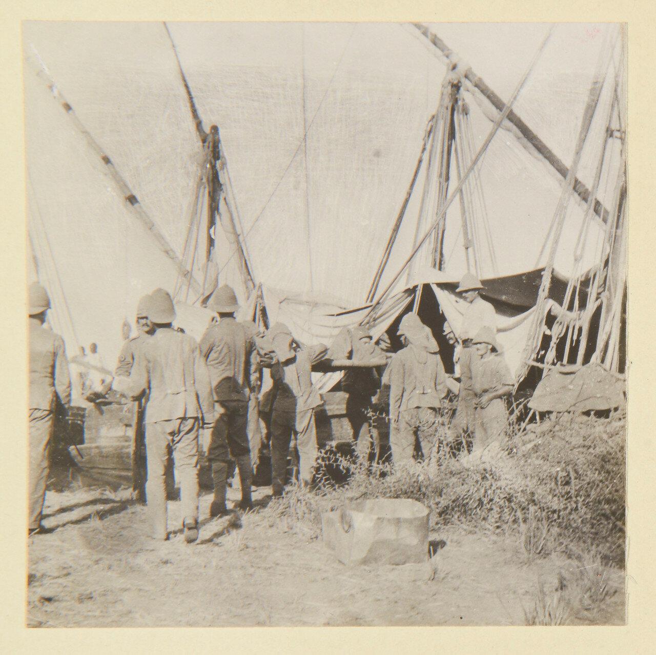 Август 1898. Больные