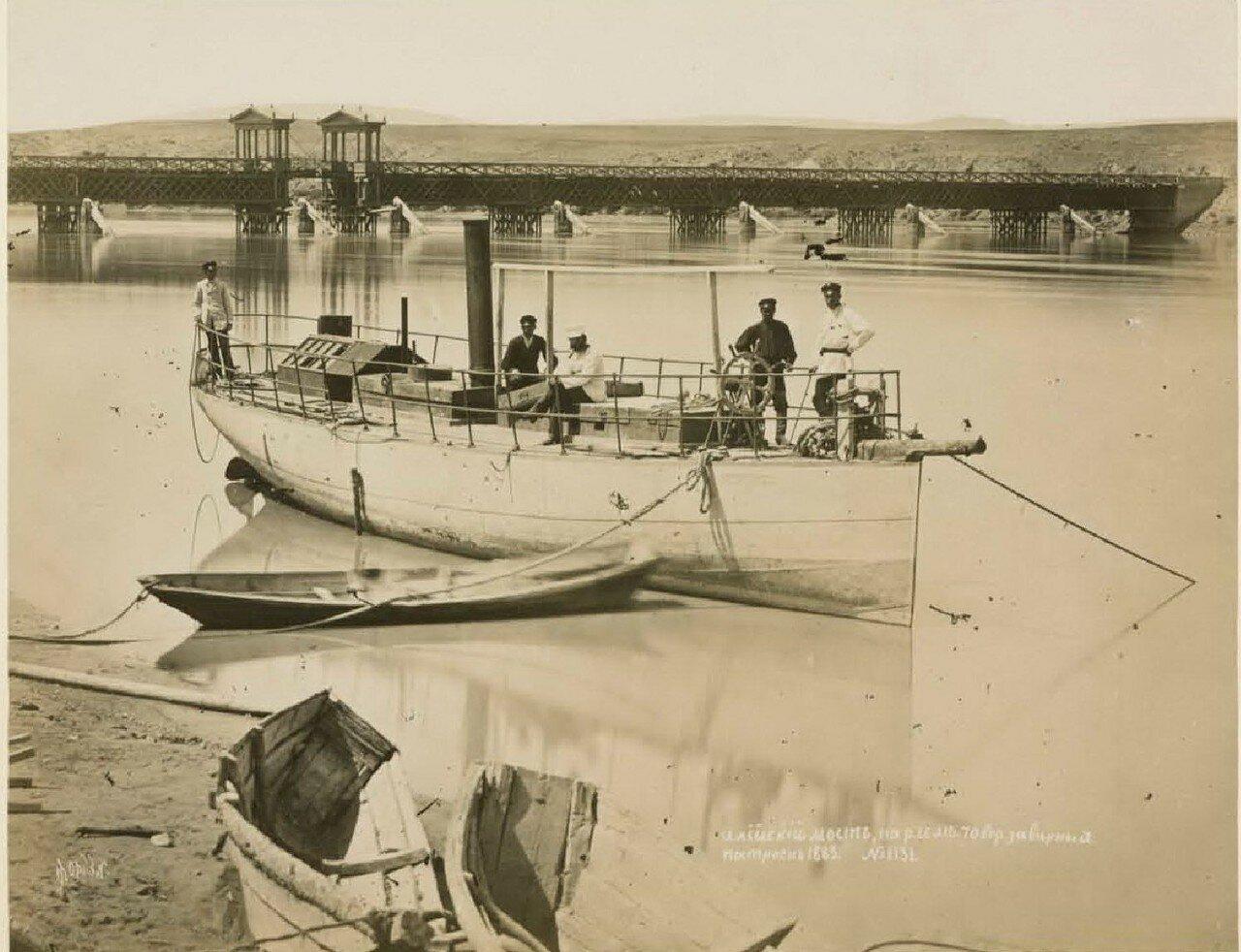 Илийский мост, на р. Или