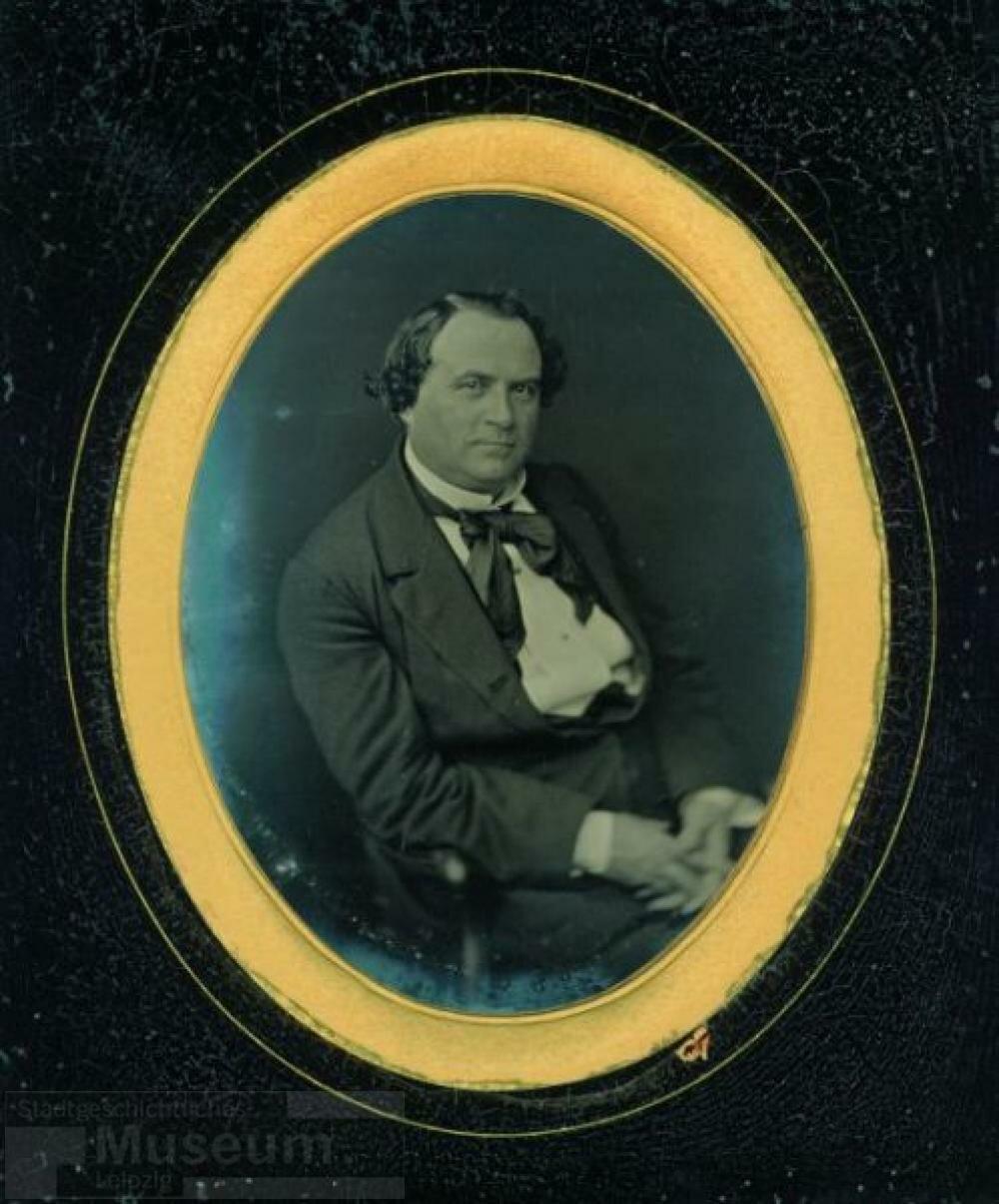1850-е. Портрет директора театра Иоганна Фердинанда Несмюллера