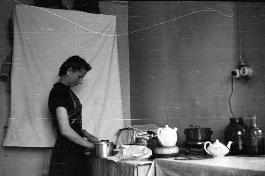 1950-е. На кухне