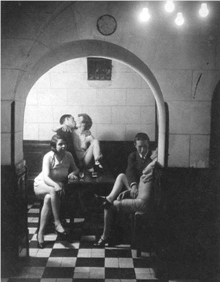 1932. Бордель «Монастырский», Латинский квартал