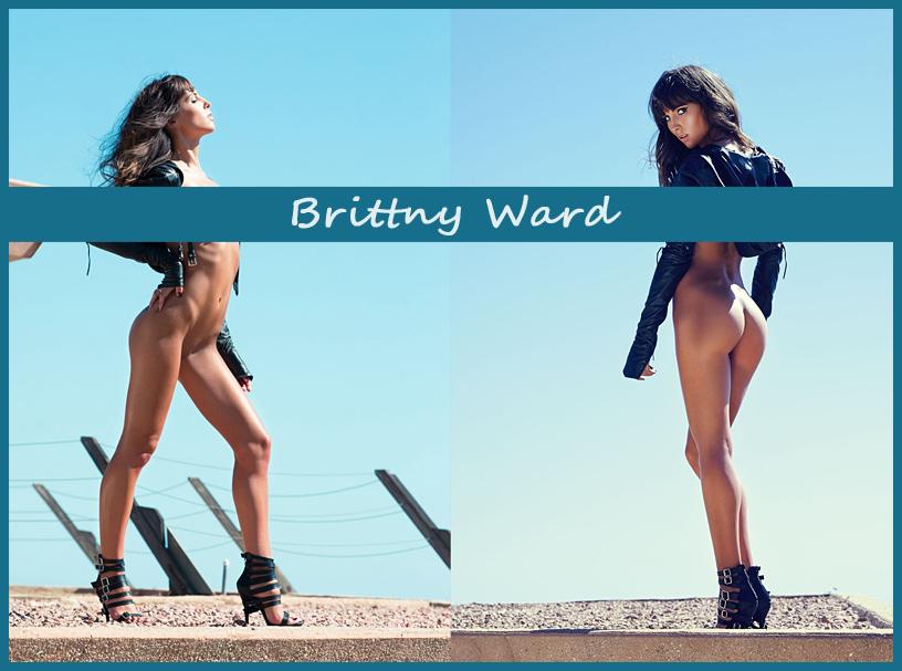 Американская модель Бриттни Уард (Brittny Ward)