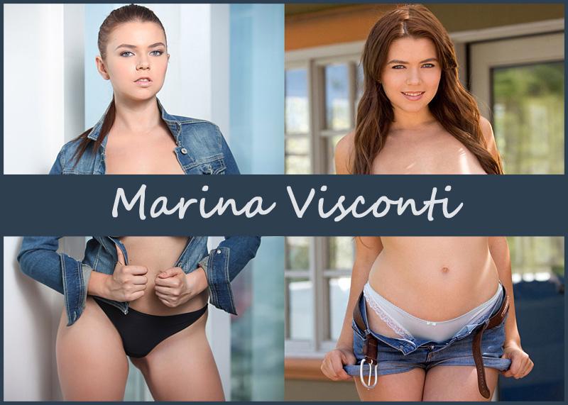 Российская порноактриса Marina Visconti (Виктория Бондурко)