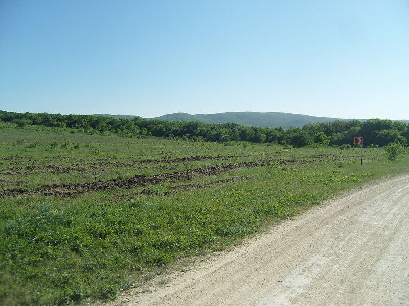 самый запад Кавказа, горки 400-500 м