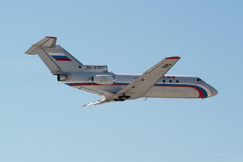 Яковлев Як-40 (RA-87971) Россия D806178a