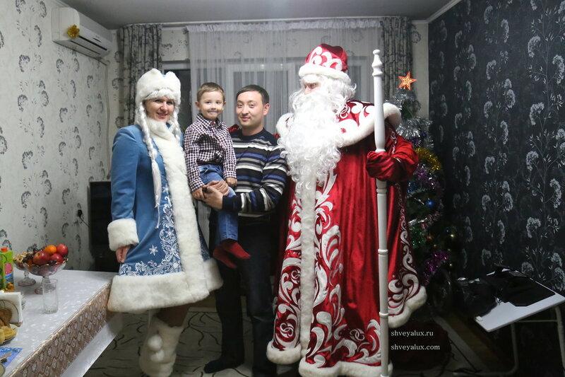 Дед Мороз и Снегурочка Алматы 2014