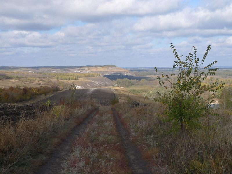 Меловые холмы Воронежская область