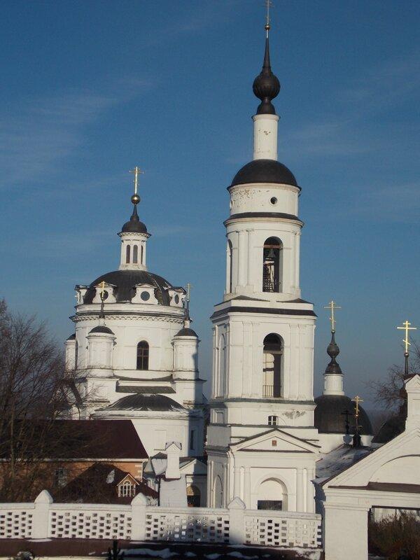 Черноостровский монастырь в  Малоярославце