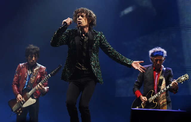 Фотографии выступления Мика Джаггера и Rolling Stones в Гластонбери