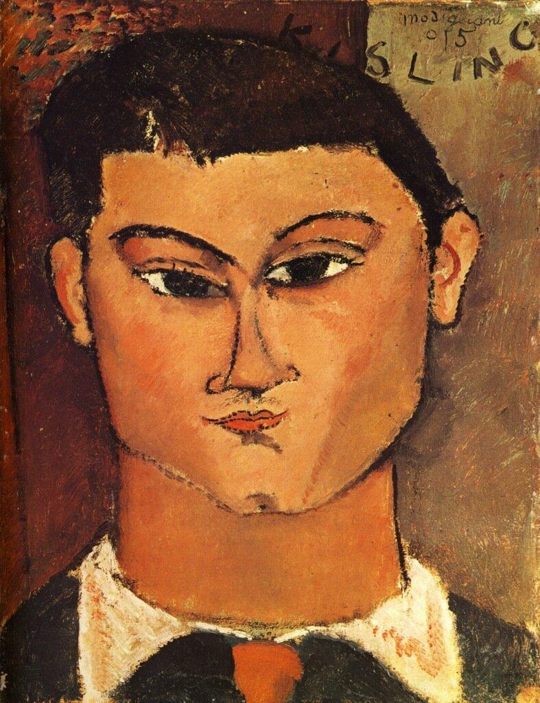 1915 Portrait de Moïse Kisling  Milan, Collection Emilio Jesi.jpg