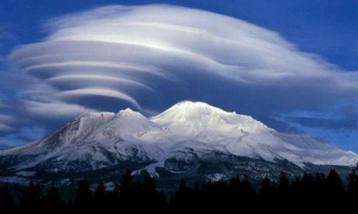 Красивые и романтичные фотографии с облаками