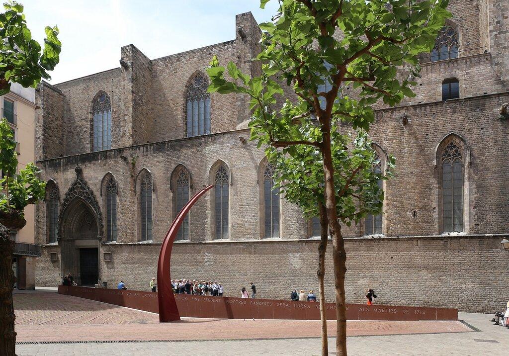 Площадь Фуса-де-лес-Муререс (Plaça del Fossar de les Moreres), Барселона