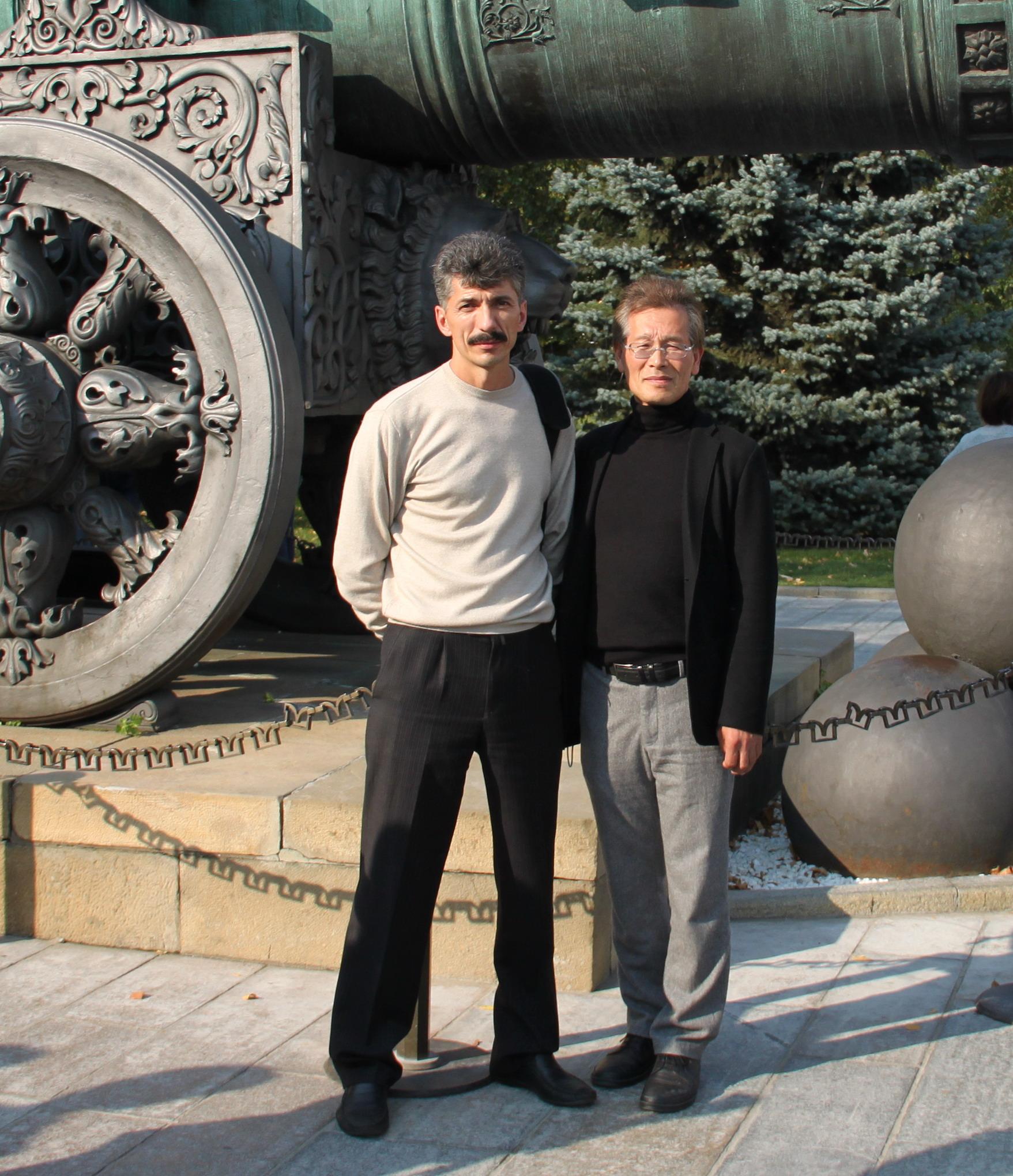 Ковалёв Г. и м-р Осаму Ямагучи.JPG