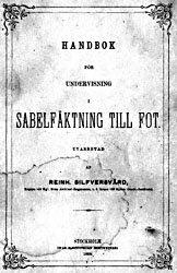 Книга Handbok for undervisning i sabelfaktning till fot