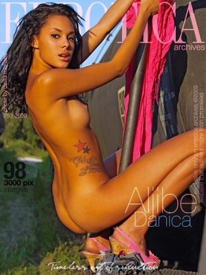 Журнал Errotica (2009): Danica - Aljibe