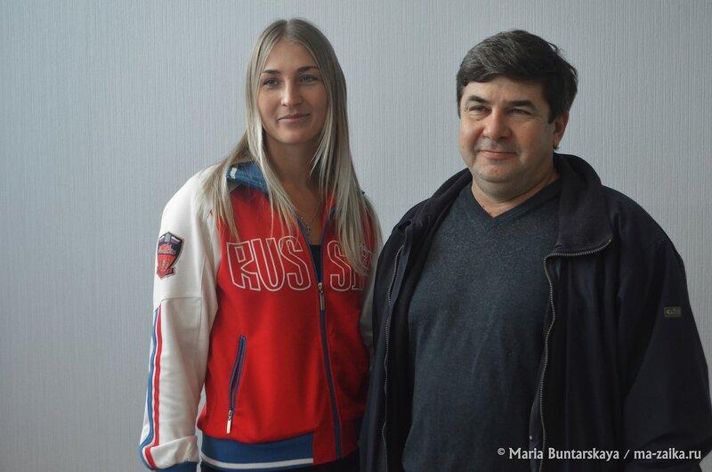 Людмила Дмитриева, Саратов, музей спортивной славы, 25 декабря 2014 года