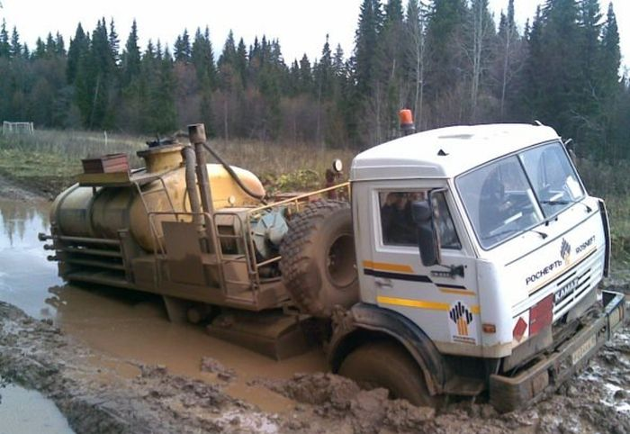 дорога в Удмуртии