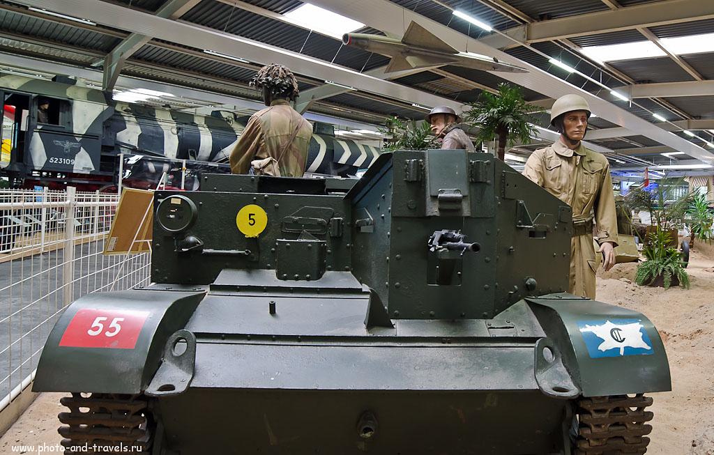 5. Отзыв об экскурсии в музей военной техники в Зинсхайме. Камера Nikon D5100, широкоугольный объектив Samyang AE 14mm f/2.8 ED AS IF UMC. Настройки: 1/15 сек 0 eV приоритет диафрагмы f/5.6 14 мм 800