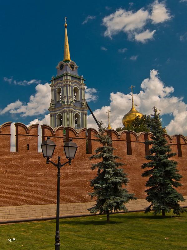 Колокольня Успенского собора Тульского кремля