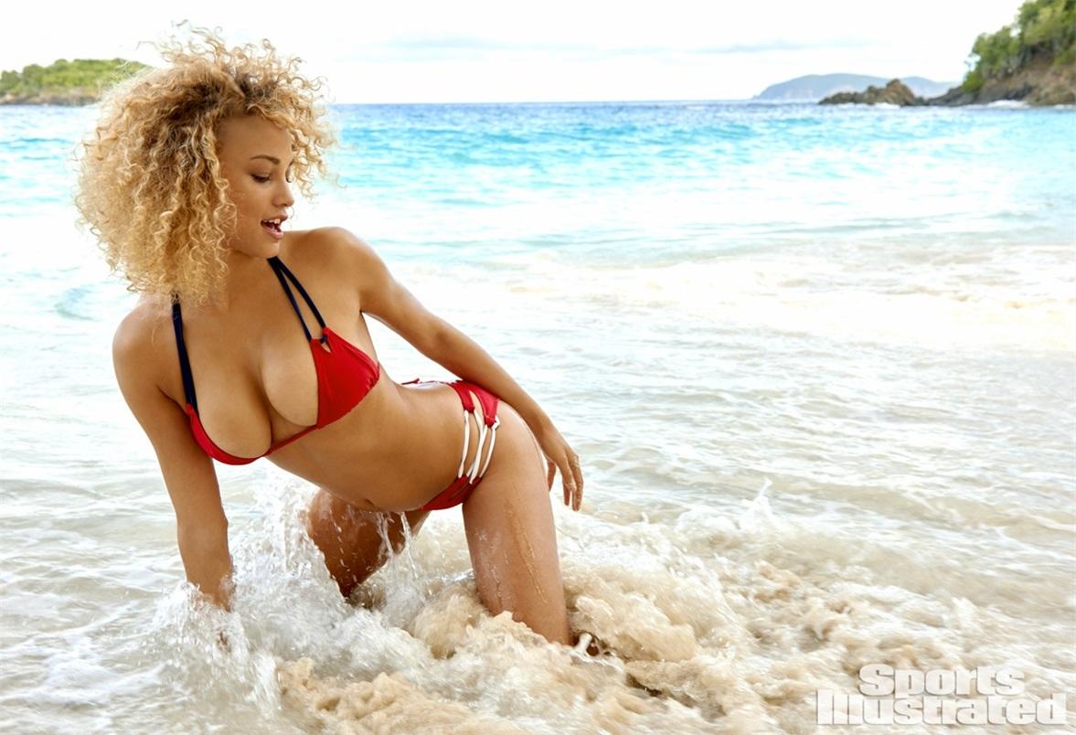 Роуз Бертрам в купальниках Sports Illustrated Swimsuit 2015 - Rose Bertram by Yu Tsai in St. John, US Virgin Islands