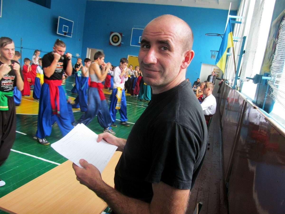 Квалификационный групповой экзамен в школе боевого гопака города Нетешин (Хмельницкая область) (29)