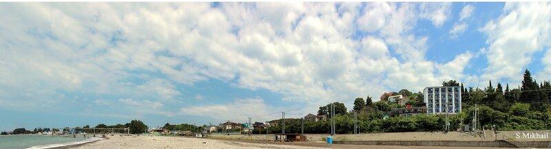 Пляж у Орешника.