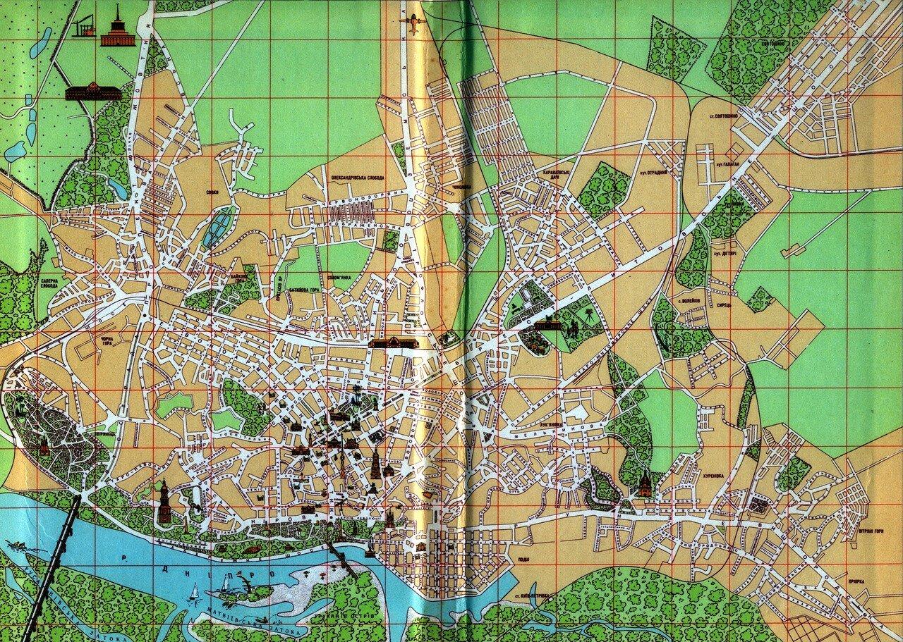 1959. Карта города