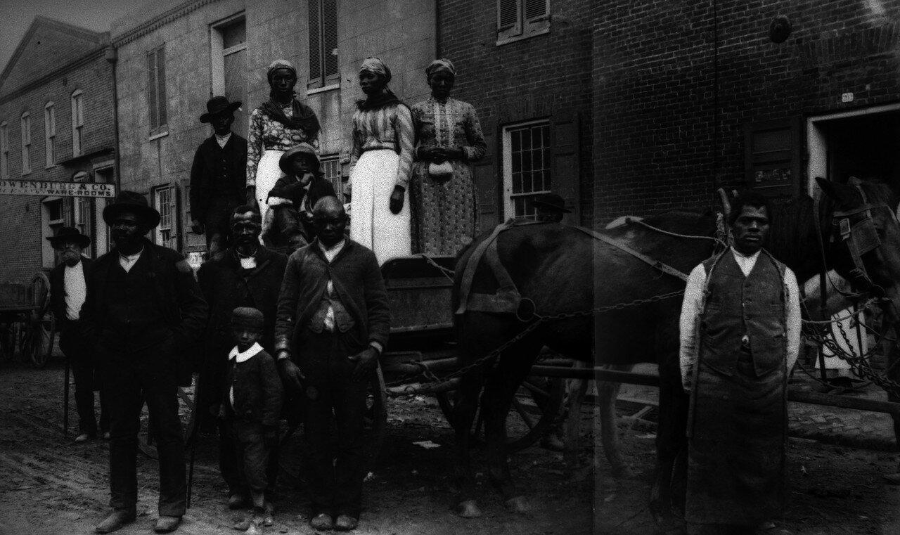 1890-1900. Воскресный день в штате Миссисипи