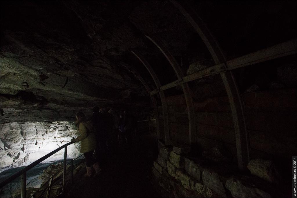 Кунгурская ледяная пещера