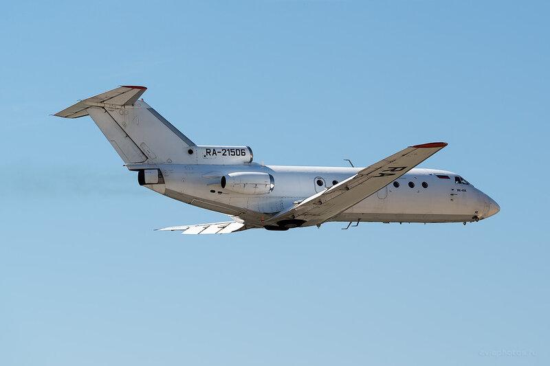 Яковлев Як-40К (RA-21506) Aero Rent D806183