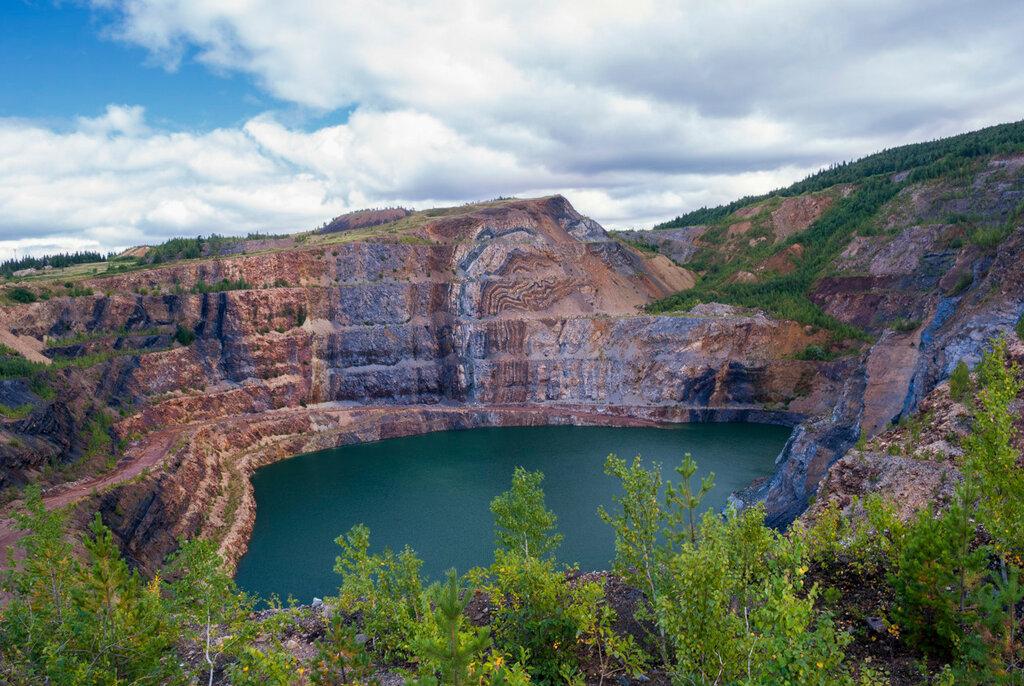 Гаёвский карьер на горе Иркускан. город Бакал