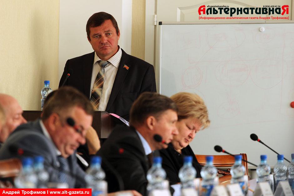 Завтрашний отчет председателя горсовета депутатов
