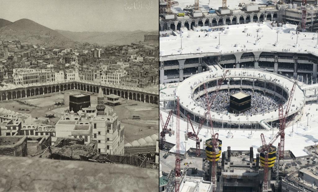 Мекка: 100 лет назад и сейчас