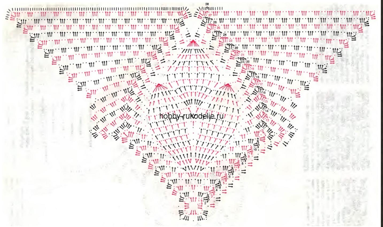 20 вариантов круглых салфеток 68