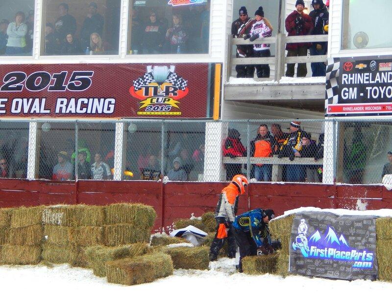 ЧМ по гонкам на снегомобилях.