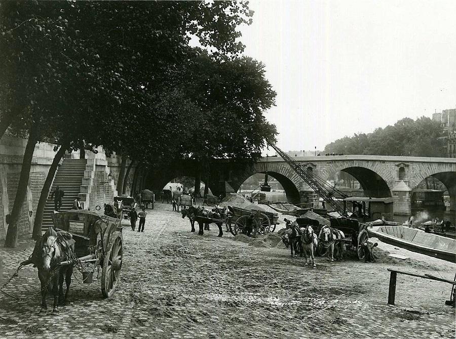 5 Travail sur les quais, vers 1910 Photo Seeberger Frères.jpg