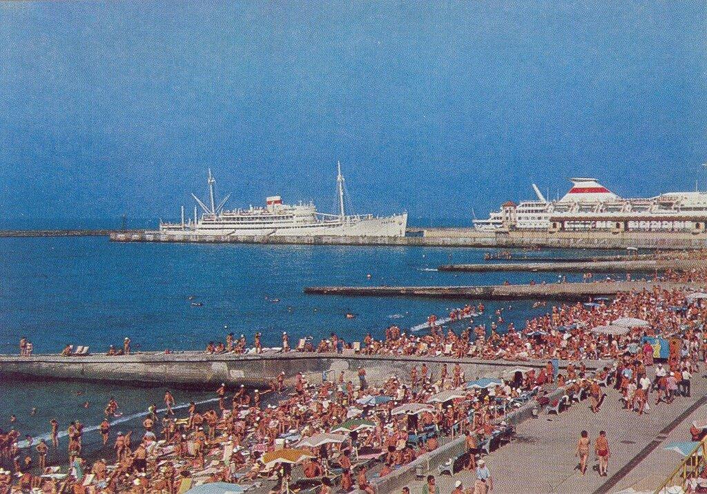 Городской пляж. 1978 г
