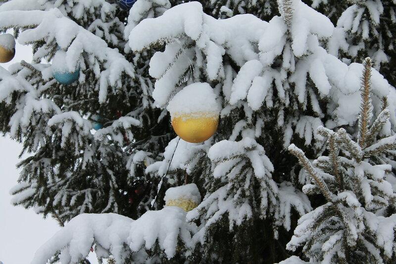 Снежное Рождество!!!