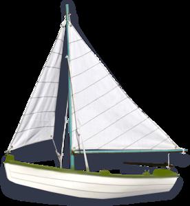 лодки с парусом