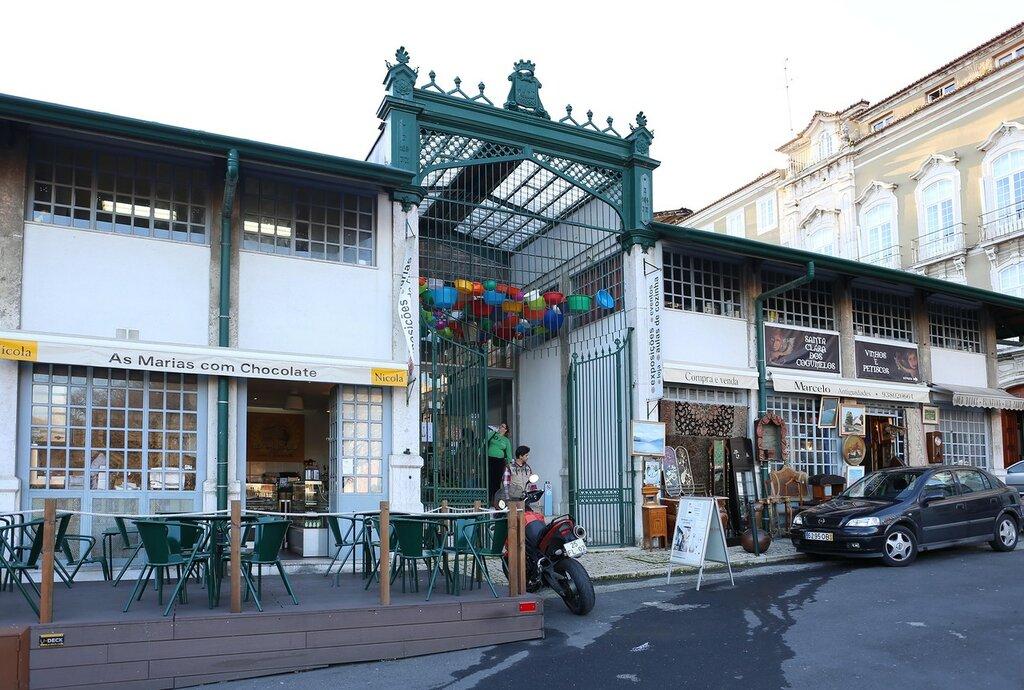 Lisbon. Mercado de Santa Clara