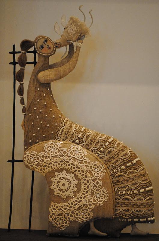 Текстильная скульптура Татьяны Овчинниковой
