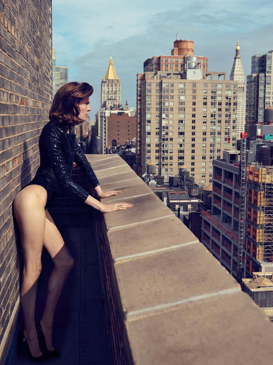 Каролин на крыше (9 фото)