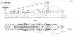 Книга Чертежи кораблей французского флота - LE GLADIATEUR 1933