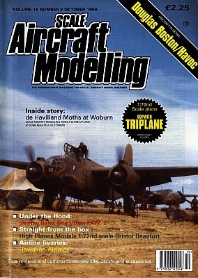 Журнал Scale Aircraft Modelling - Vol 18 No 08