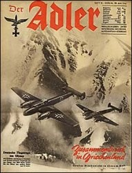 Журнал Der ADLER  № 10 - 20 мая 1941